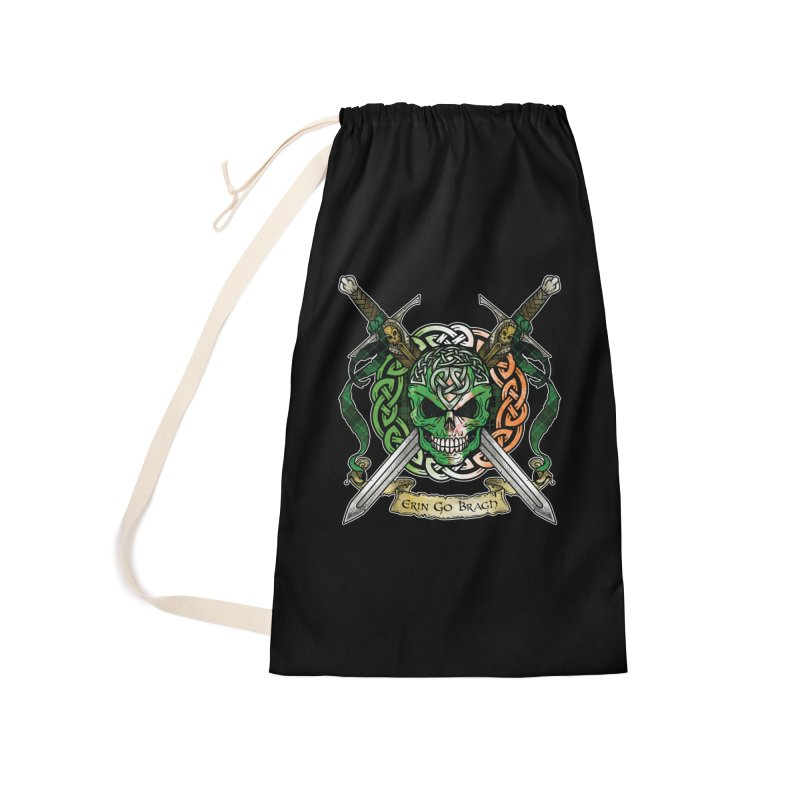 Celtic Warrior: Ireland Accessories Laundry Bag Bag by Celtic Hammer Club