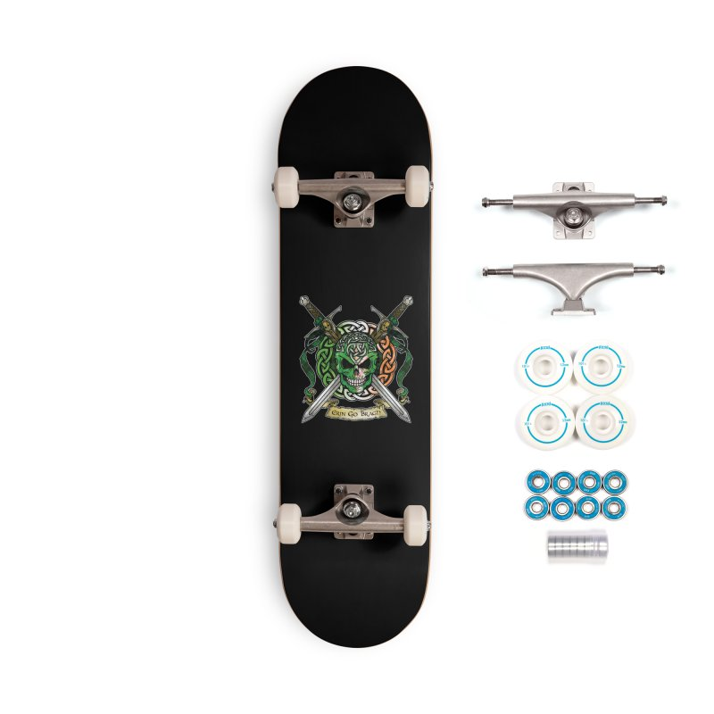 Celtic Warrior: Ireland Accessories Complete - Basic Skateboard by Celtic Hammer Club