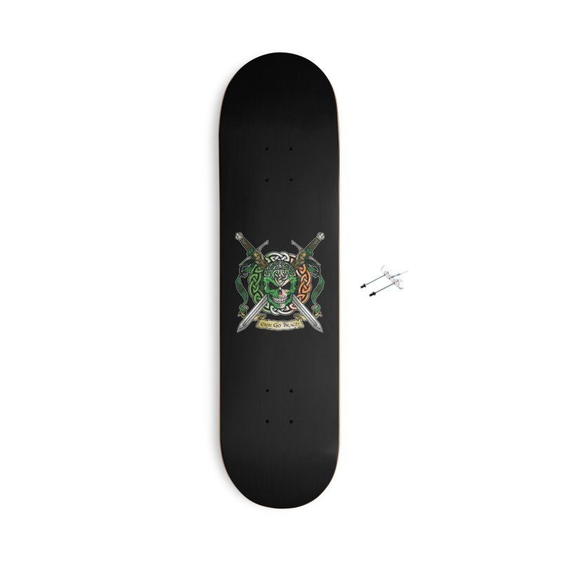 Celtic Warrior: Ireland Accessories With Hanging Hardware Skateboard by Celtic Hammer Club