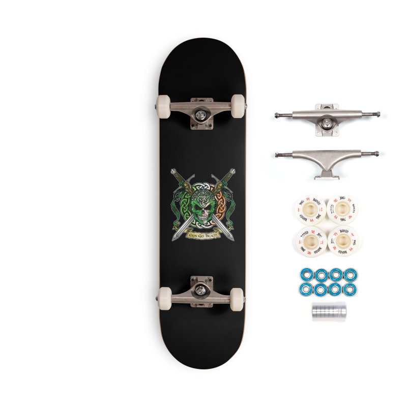 Celtic Warrior: Ireland Accessories Complete - Premium Skateboard by Celtic Hammer Club