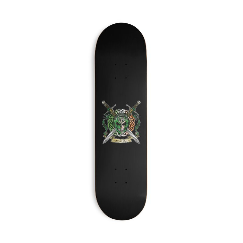 Celtic Warrior: Ireland Accessories Deck Only Skateboard by Celtic Hammer Club