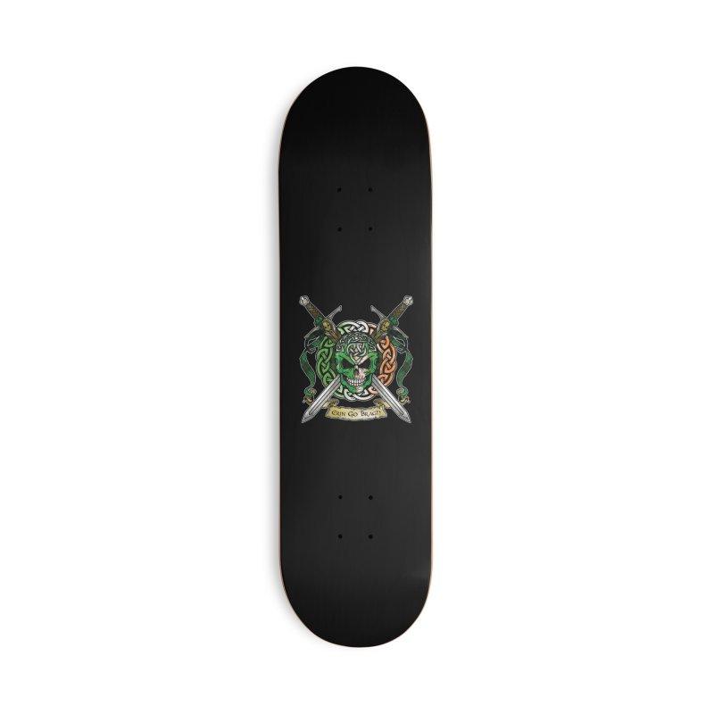 Celtic Warrior: Ireland Accessories Skateboard by Celtic Hammer Club