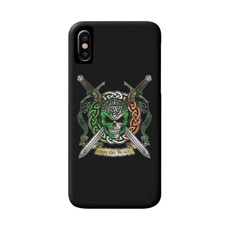 Celtic Warrior: Ireland Accessories Phone Case by Celtic Hammer Club