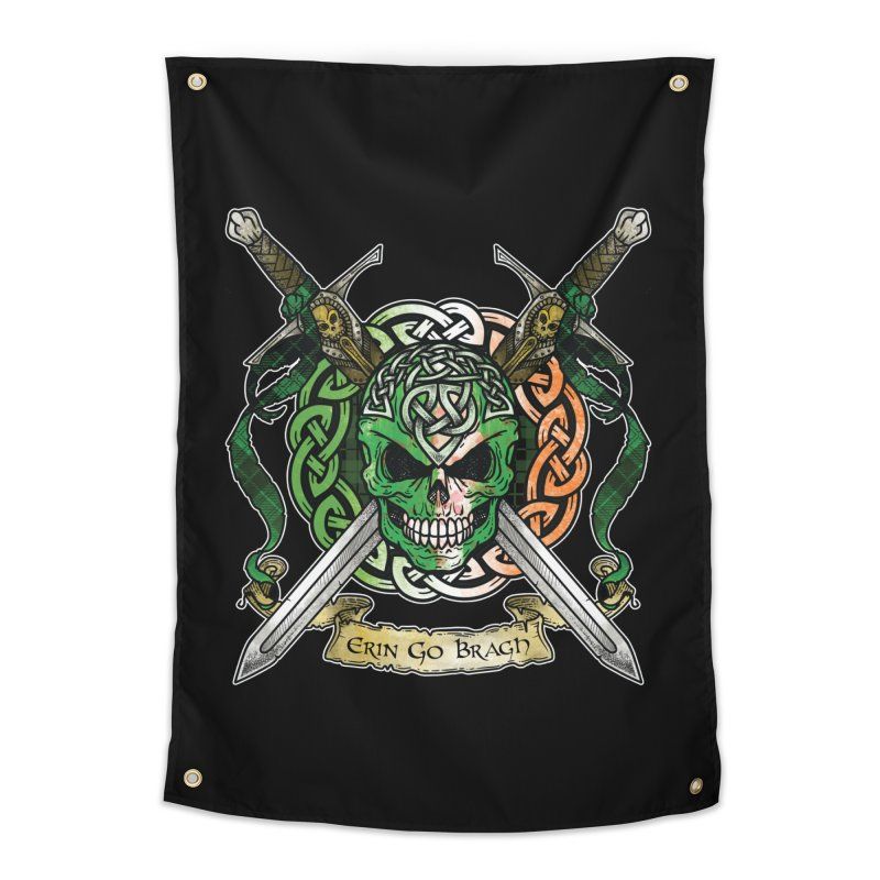 Celtic Warrior: Ireland Home Tapestry by Celtic Hammer Club
