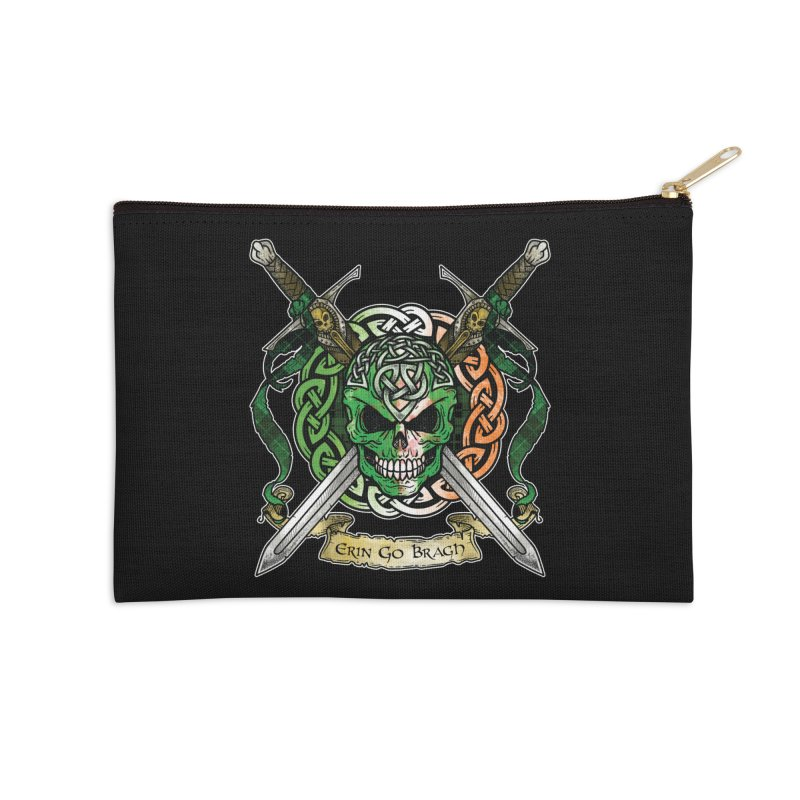 Celtic Warrior: Ireland Accessories Zip Pouch by Celtic Hammer Club