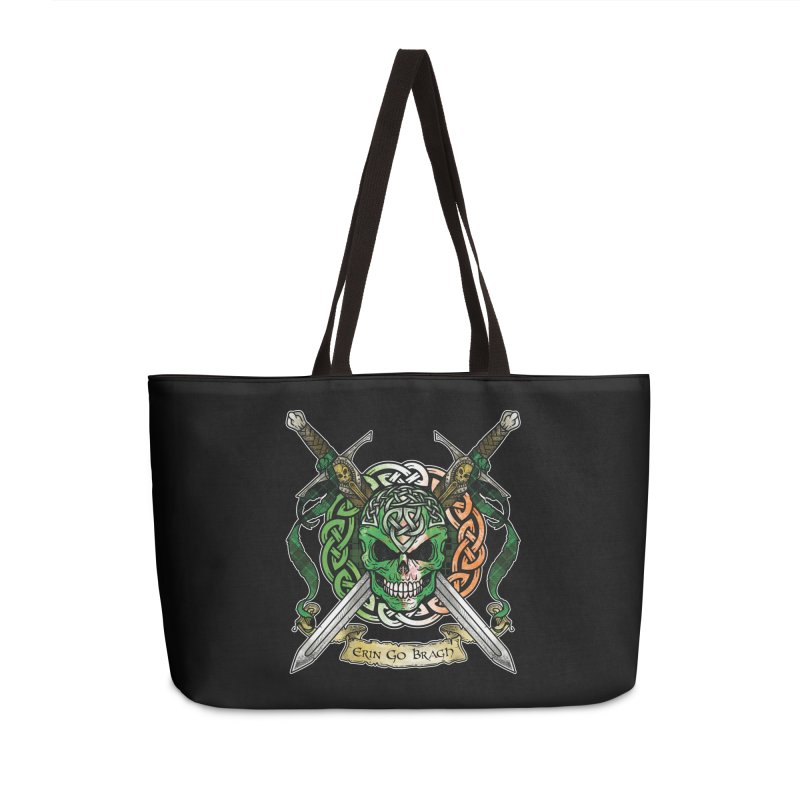 Celtic Warrior: Ireland Accessories Weekender Bag Bag by Celtic Hammer Club