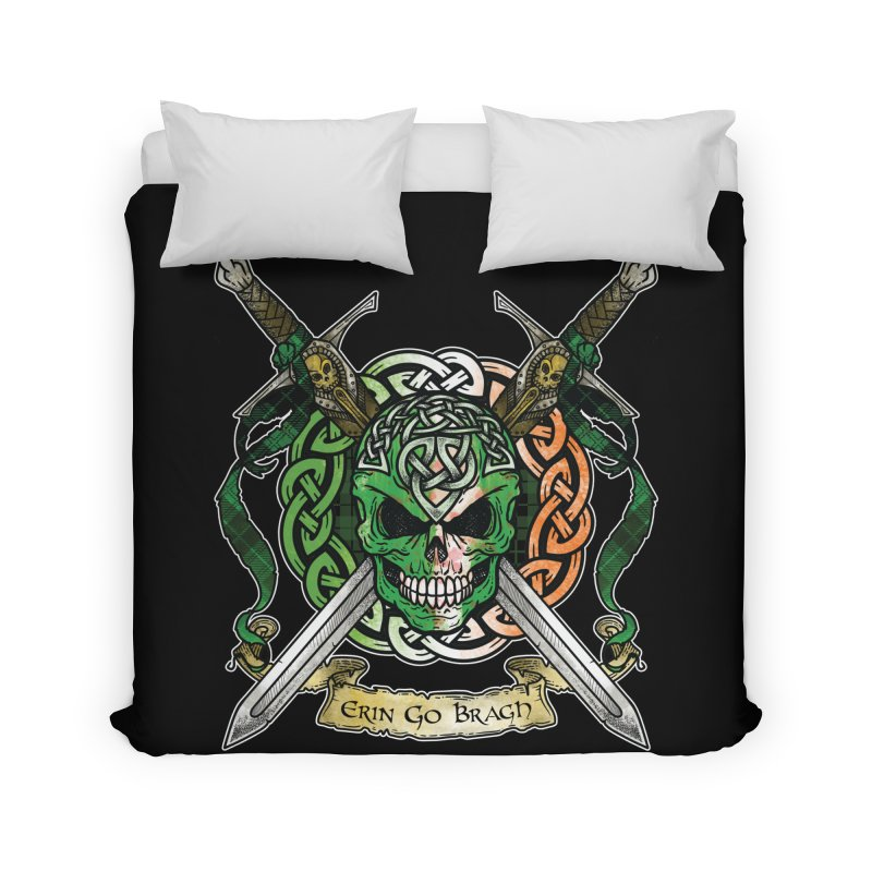 Celtic Warrior: Ireland Home Duvet by Celtic Hammer Club