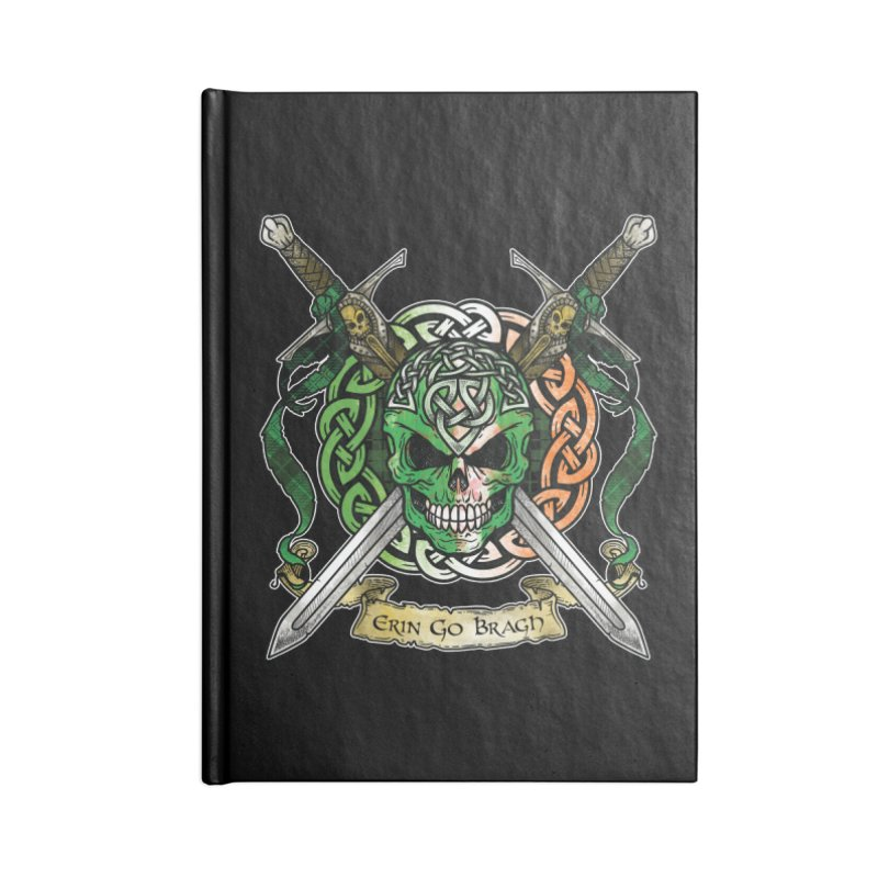 Celtic Warrior: Ireland Accessories Lined Journal Notebook by Celtic Hammer Club