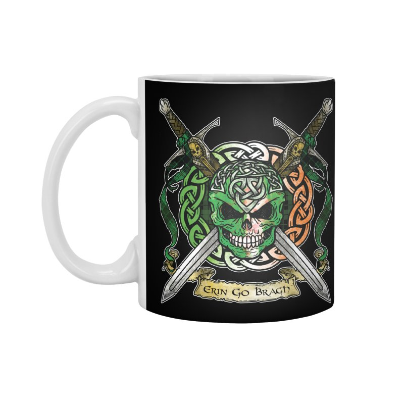 Celtic Warrior: Ireland Accessories Standard Mug by Celtic Hammer Club