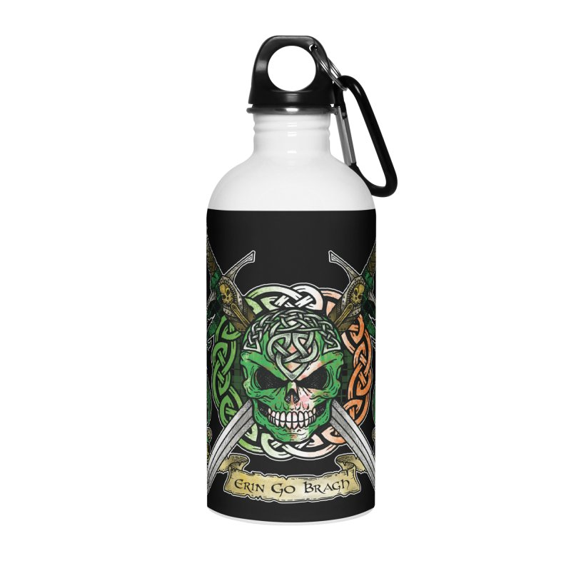 Celtic Warrior: Ireland Accessories Water Bottle by Celtic Hammer Club