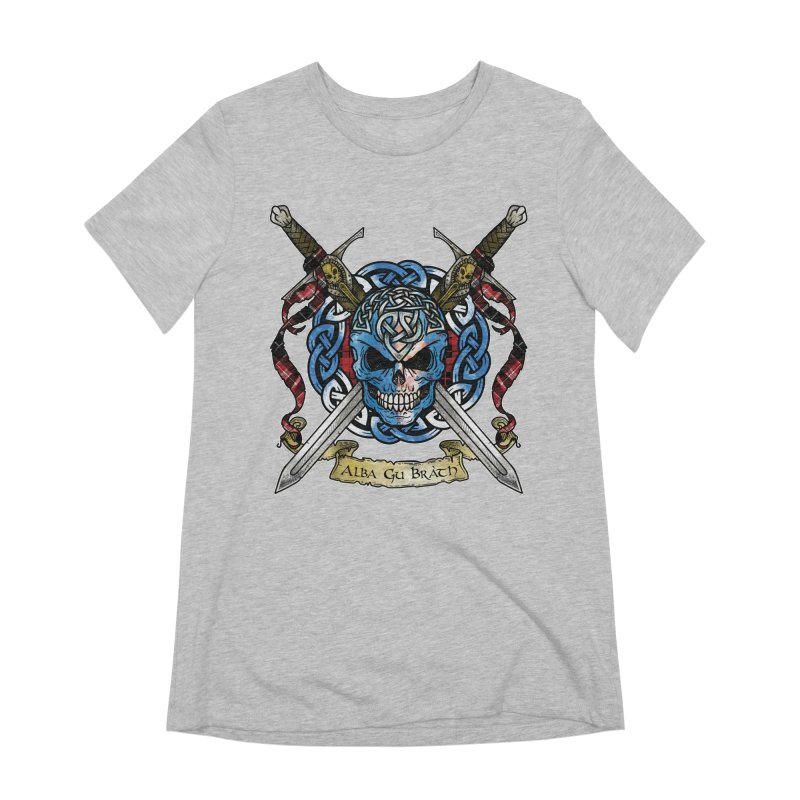 Celtic Warrior: Scotland Women's Extra Soft T-Shirt by Celtic Hammer Club