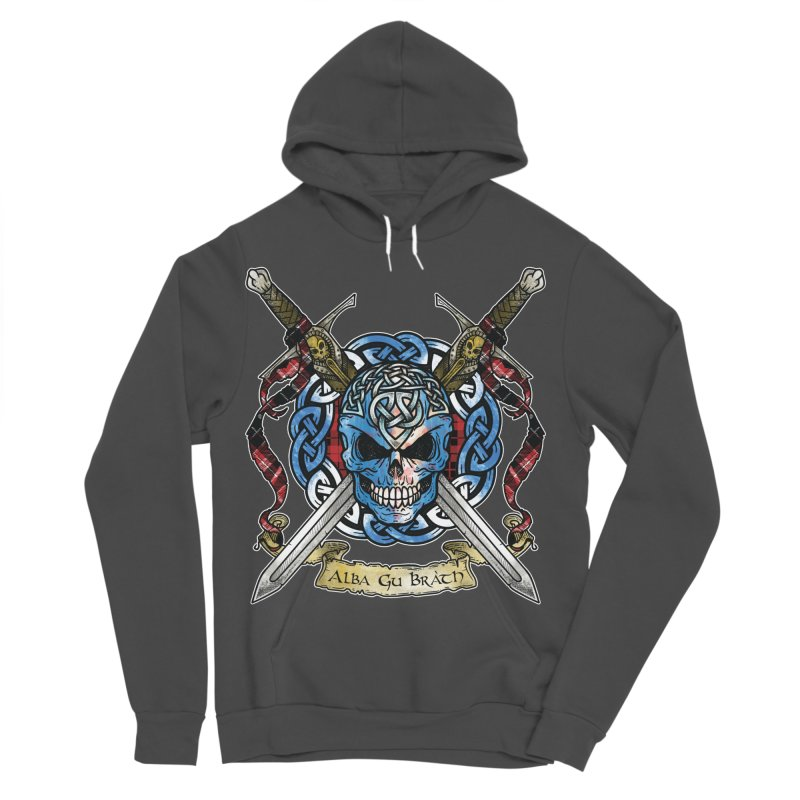 Celtic Warrior: Scotland Women's Sponge Fleece Pullover Hoody by Celtic Hammer Club