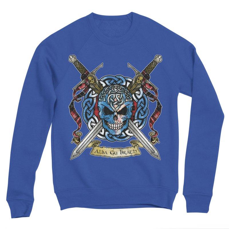 Celtic Warrior: Scotland Women's Sponge Fleece Sweatshirt by Celtic Hammer Club