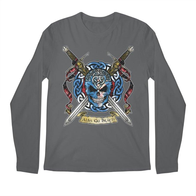 Celtic Warrior: Scotland Men's Longsleeve T-Shirt by Celtic Hammer Club