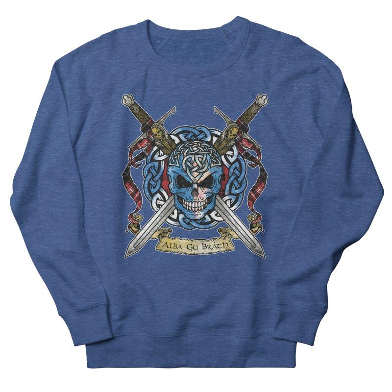 Celtic Warrior: Scotland Men's Sweatshirt by Celtic Hammer Club