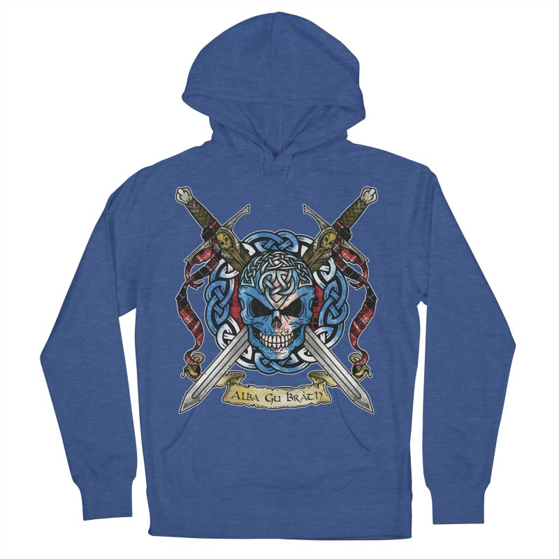 Celtic Warrior: Scotland Women's French Terry Pullover Hoody by Celtic Hammer Club