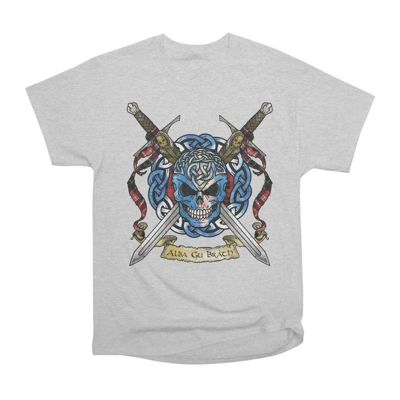 Celtic Warrior: Scotland Men's Heavyweight T-Shirt by Celtic Hammer Club