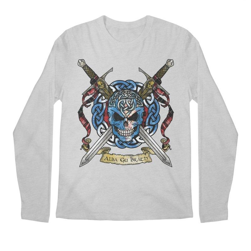 Celtic Warrior: Scotland Men's Regular Longsleeve T-Shirt by Celtic Hammer Club