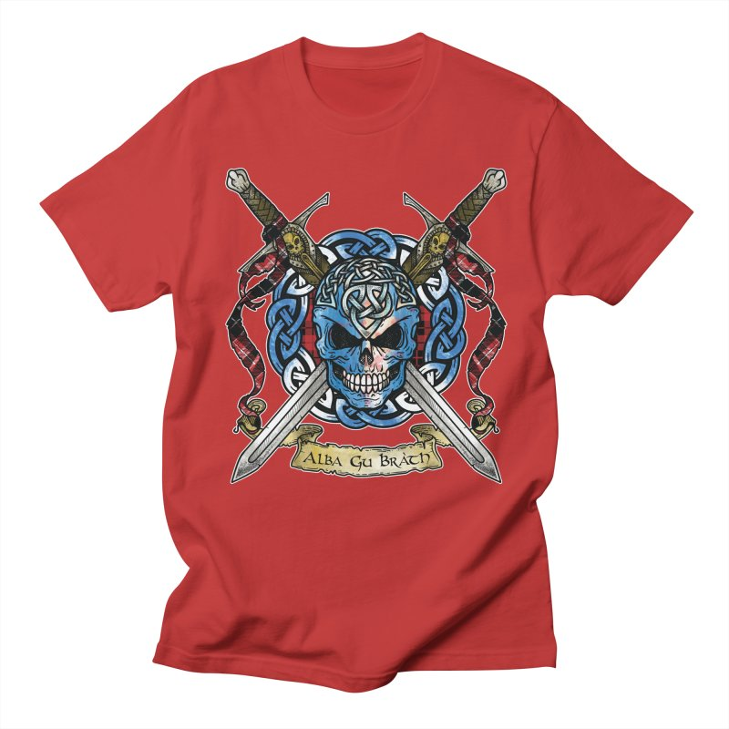 Celtic Warrior: Scotland Women's Regular Unisex T-Shirt by Celtic Hammer Club