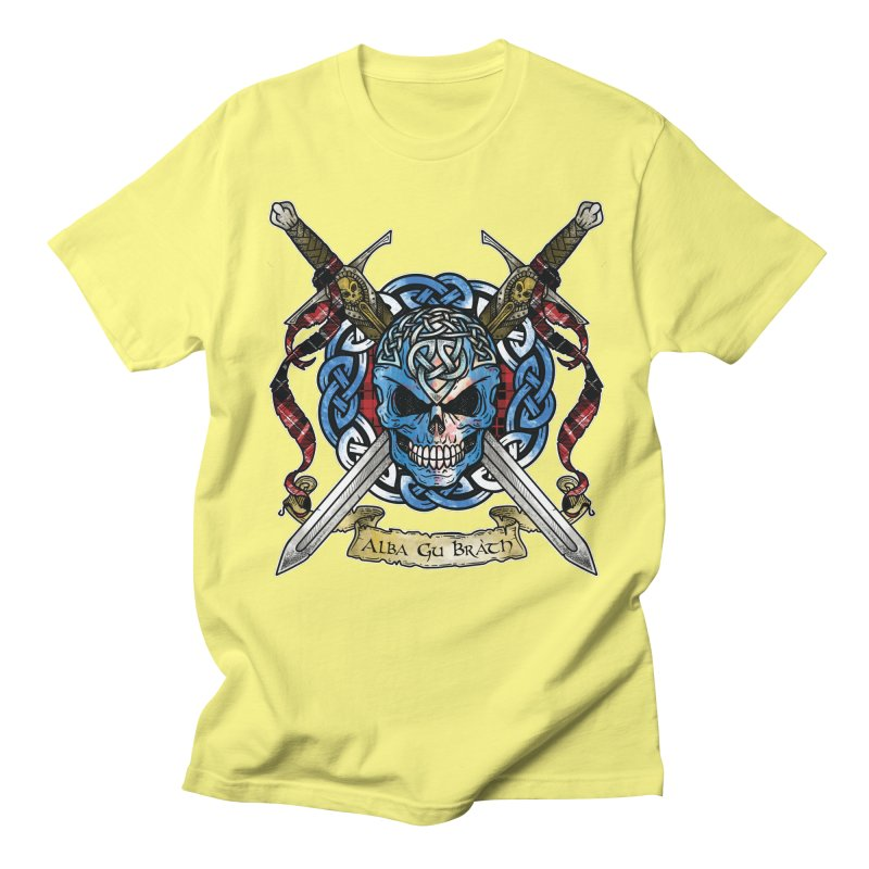 Celtic Warrior: Scotland Women's Regular Unisex T-Shirt by Celtic Hammer Club