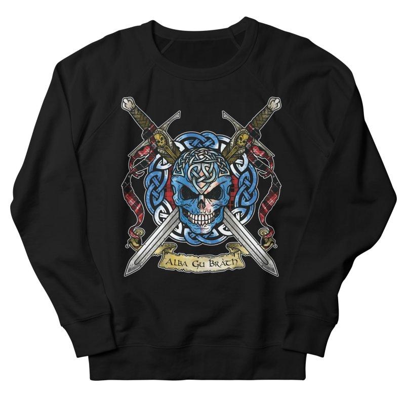 Celtic Warrior: Scotland Men's French Terry Sweatshirt by Celtic Hammer Club