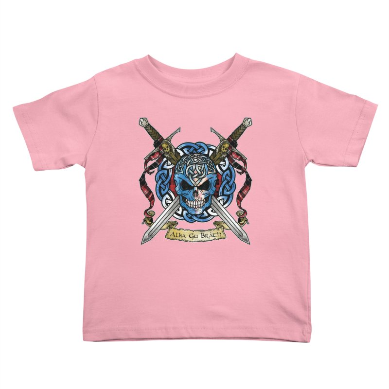 Celtic Warrior: Scotland Kids Toddler T-Shirt by Celtic Hammer Club