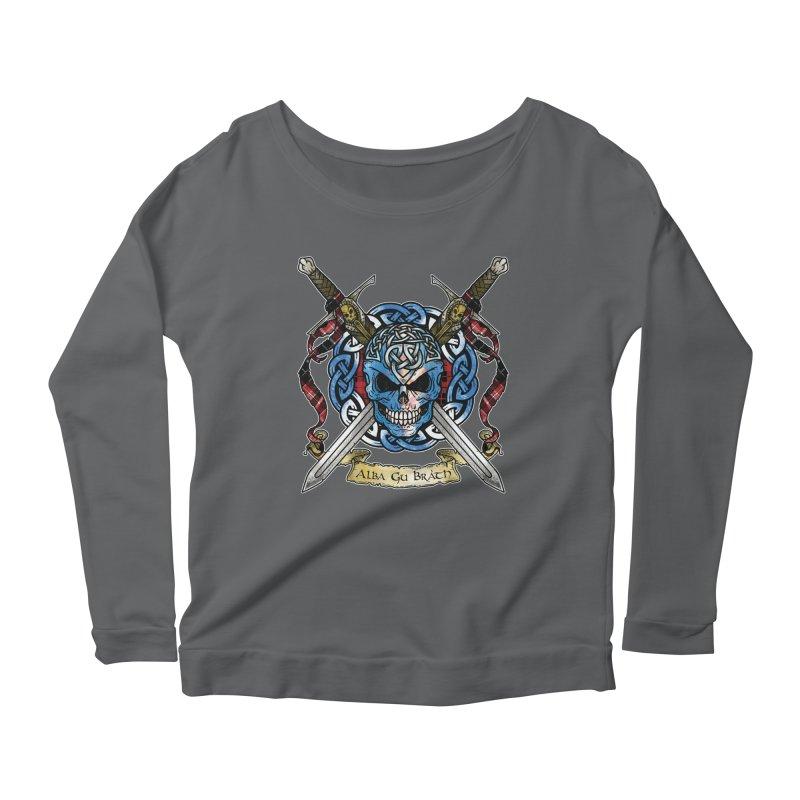 Celtic Warrior: Scotland Women's Longsleeve T-Shirt by Celtic Hammer Club