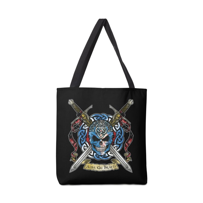 Celtic Warrior: Scotland Accessories Tote Bag Bag by Celtic Hammer Club