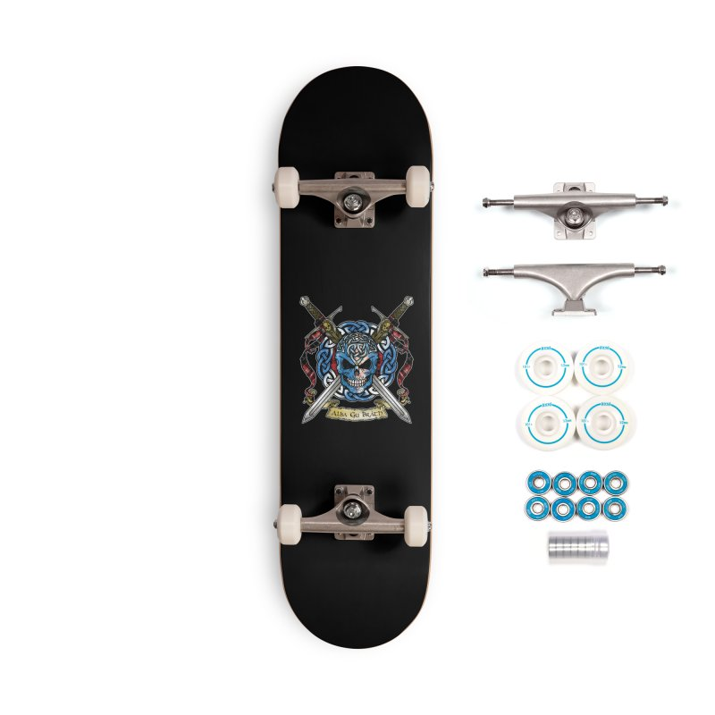 Celtic Warrior: Scotland Accessories Complete - Basic Skateboard by Celtic Hammer Club