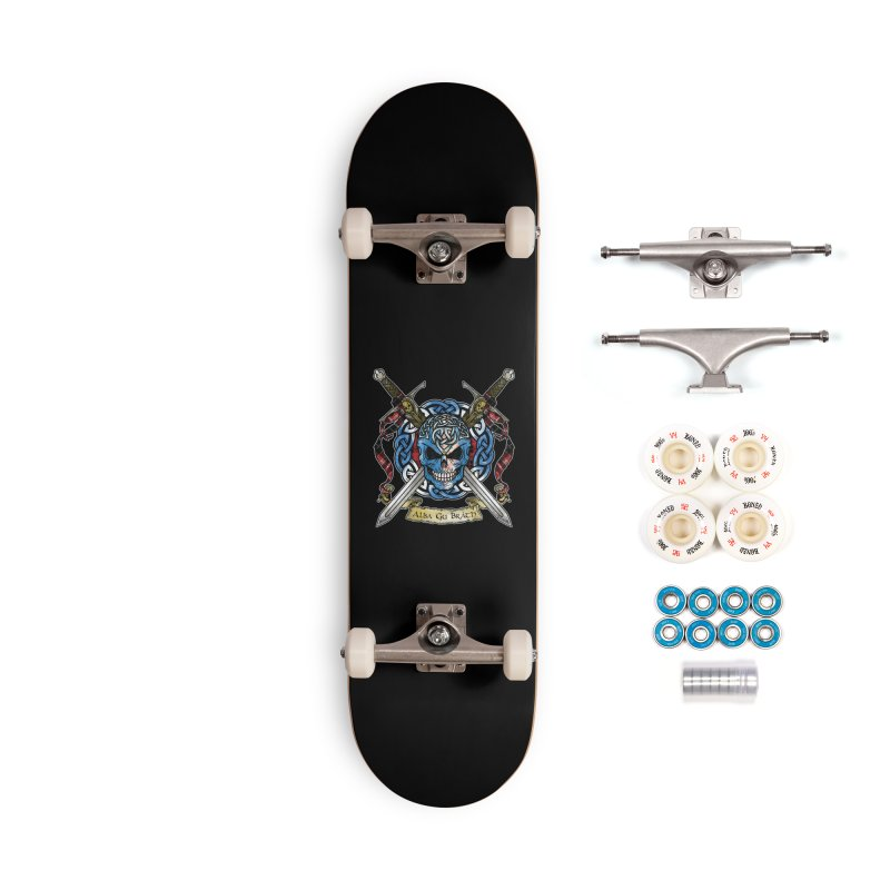 Celtic Warrior: Scotland Accessories Complete - Premium Skateboard by Celtic Hammer Club