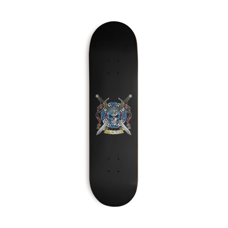 Celtic Warrior: Scotland Accessories Deck Only Skateboard by Celtic Hammer Club