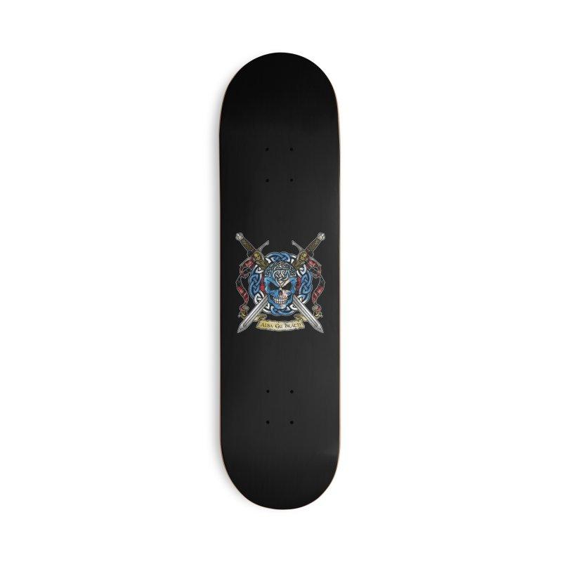 Celtic Warrior: Scotland Accessories Skateboard by Celtic Hammer Club