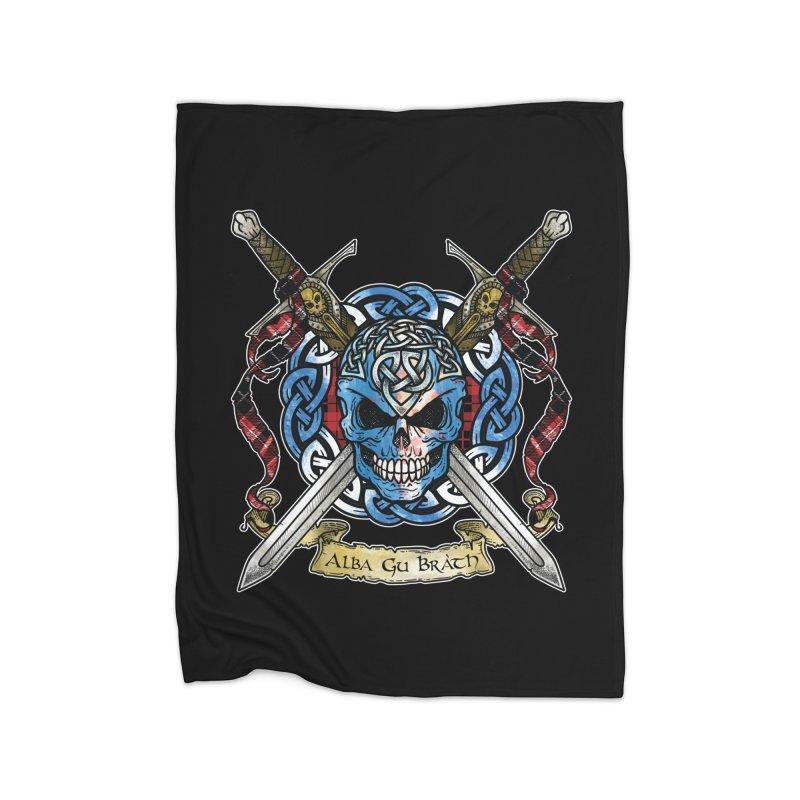 Celtic Warrior: Scotland Home Blanket by Celtic Hammer Club