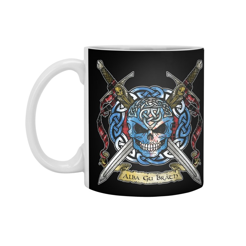 Celtic Warrior: Scotland Accessories Standard Mug by Celtic Hammer Club