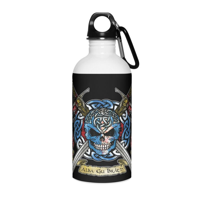 Celtic Warrior: Scotland Accessories Water Bottle by Celtic Hammer Club