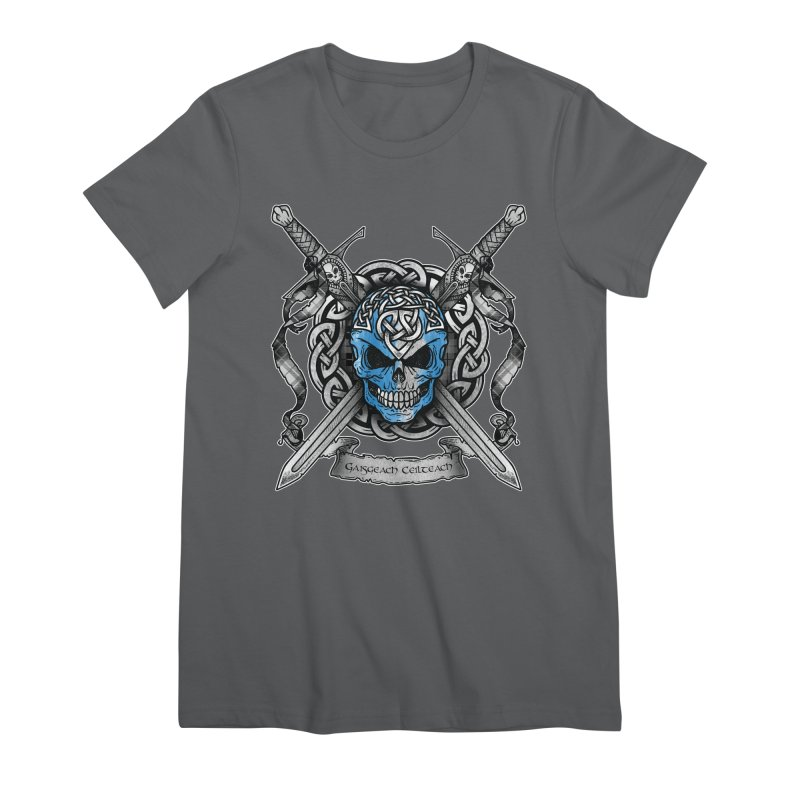 Celtic Warrior Women's Premium T-Shirt by Celtic Hammer Club
