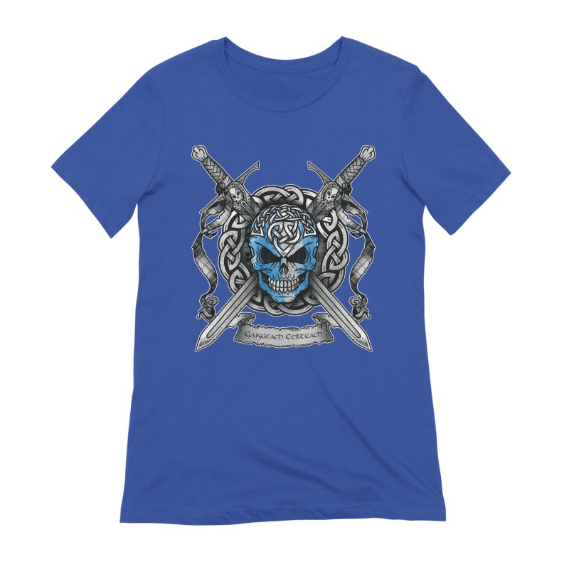 Celtic Warrior Women's Extra Soft T-Shirt by Celtic Hammer Club