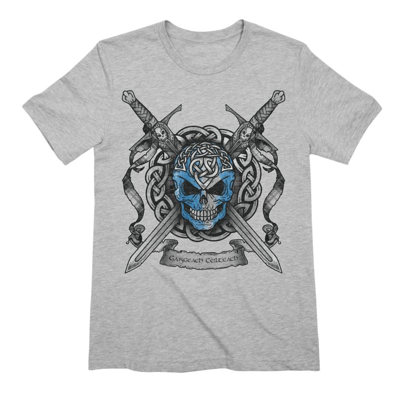 Celtic Warrior Men's Extra Soft T-Shirt by Celtic Hammer Club