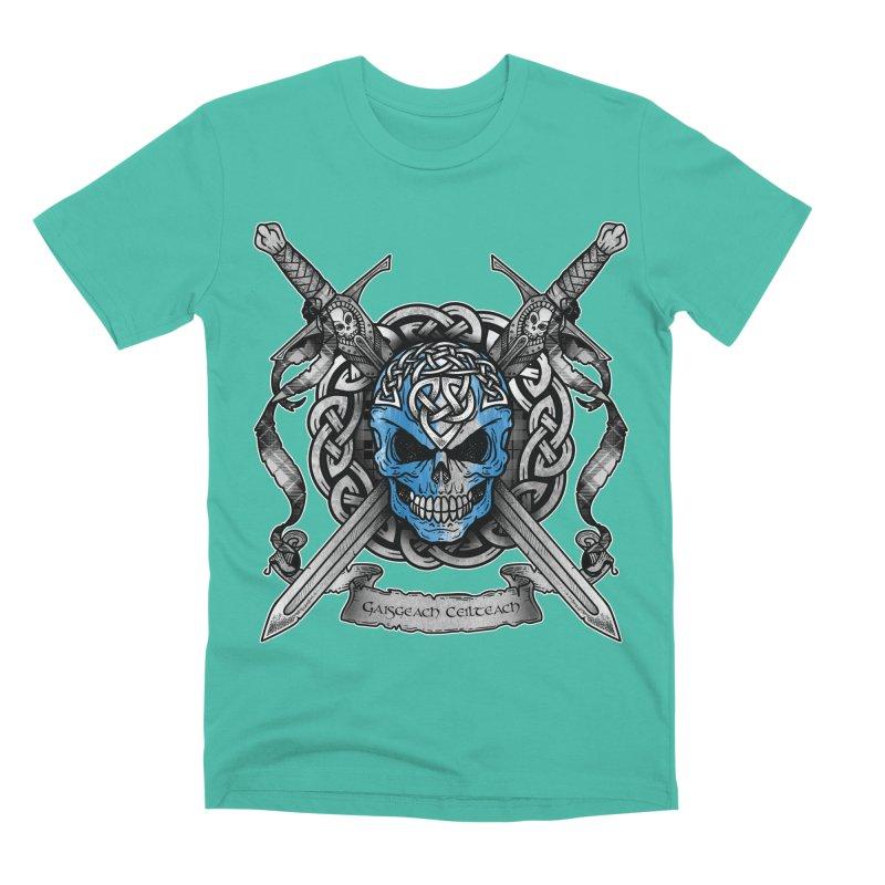 Celtic Warrior Men's Premium T-Shirt by Celtic Hammer Club