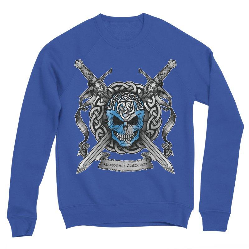 Celtic Warrior Men's Sponge Fleece Sweatshirt by Celtic Hammer Club