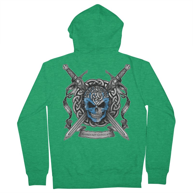 Celtic Warrior Men's Zip-Up Hoody by Celtic Hammer Club