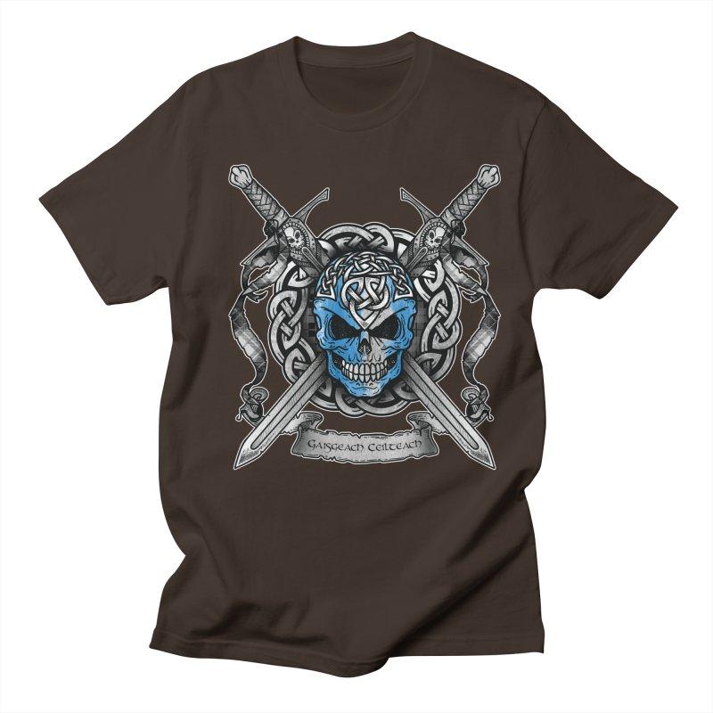 Celtic Warrior Men's T-Shirt by Celtic Hammer Club