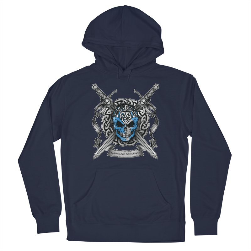 Celtic Warrior Men's Pullover Hoody by Celtic Hammer Club