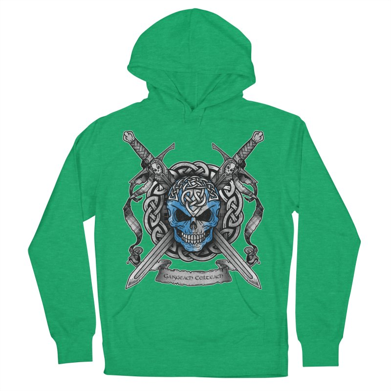 Celtic Warrior Women's French Terry Pullover Hoody by Celtic Hammer Club