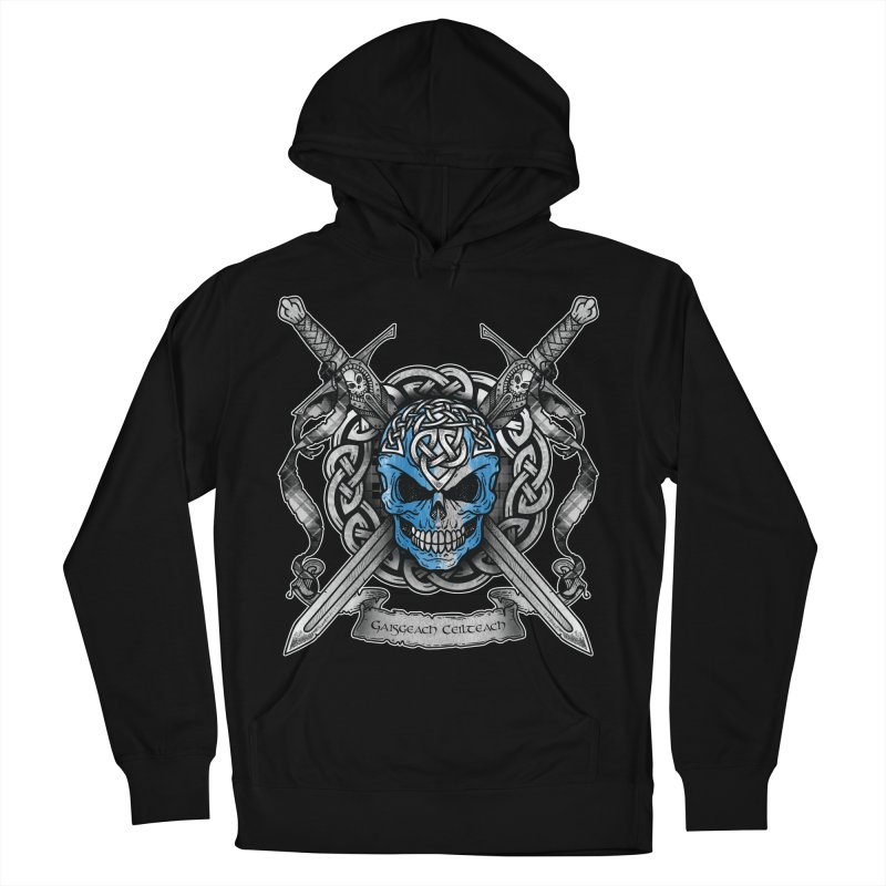 Celtic Warrior Men's French Terry Pullover Hoody by Celtic Hammer Club