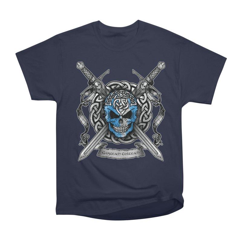 Celtic Warrior Men's Heavyweight T-Shirt by Celtic Hammer Club