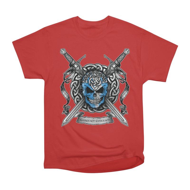 Celtic Warrior Women's Heavyweight Unisex T-Shirt by Celtic Hammer Club