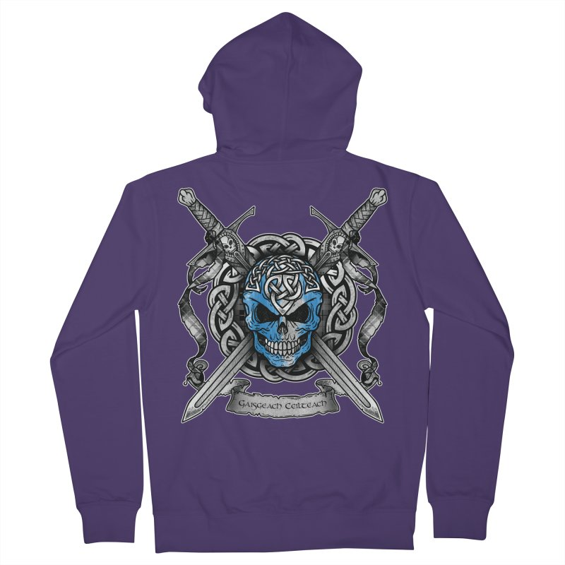 Celtic Warrior Women's French Terry Zip-Up Hoody by Celtic Hammer Club