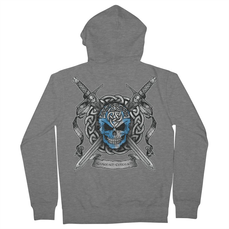 Celtic Warrior Men's French Terry Zip-Up Hoody by Celtic Hammer Club