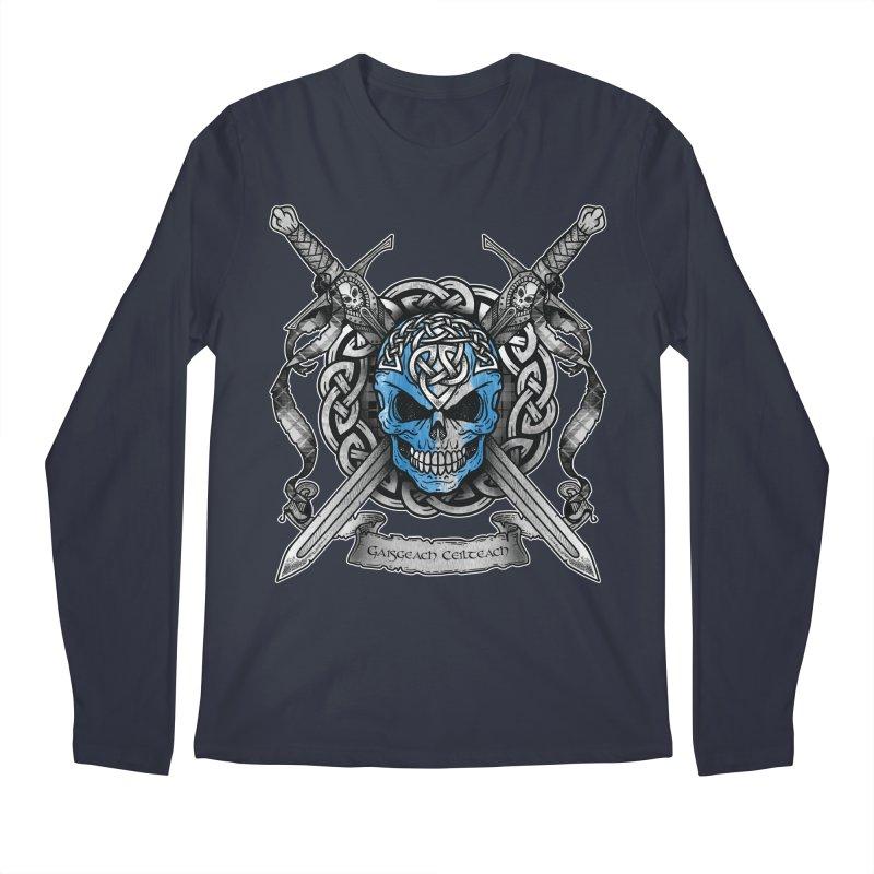 Celtic Warrior Men's Regular Longsleeve T-Shirt by Celtic Hammer Club